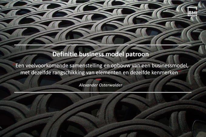 Patrones de modelo de negocio