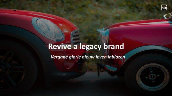 Patrón de revivir una marca histórica